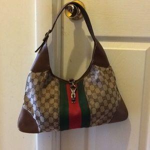 Gucci classic GG shoulder handbag